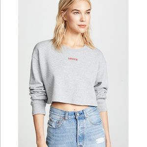 Levi's | Cropped Sweatshirt